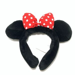 NWOT Disney Minnie Mouse headband polka dots black